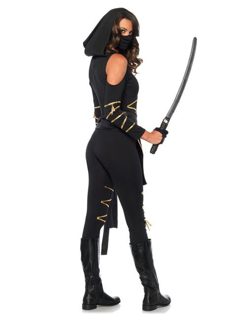Disfraz de ninja sigilosa para mujer - mujer