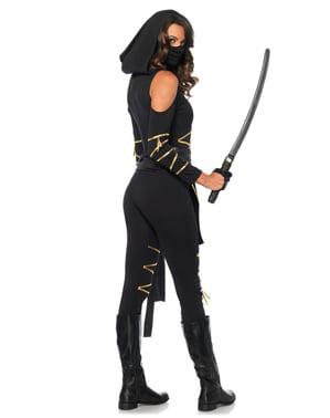 Costum de ninja silențios pentru femeie