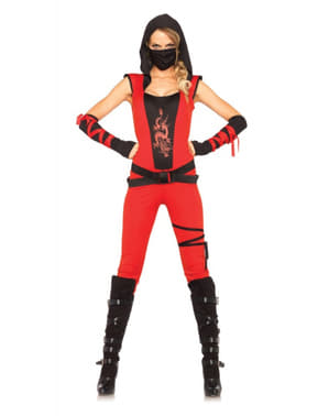 Strój ninja zabójca damski