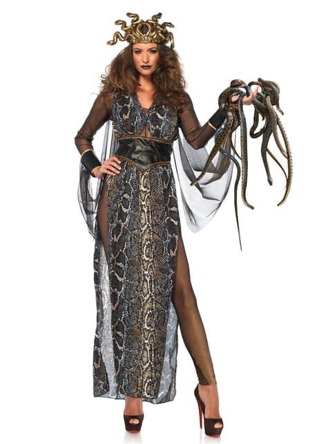 Disfraz de Medusa sexy para mujer