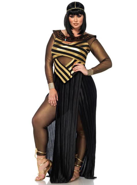 Disfraz de reina del Nilo sensual para mujer