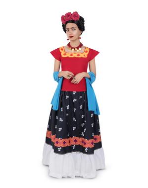 Frida Kahlo Maskeraddräkt