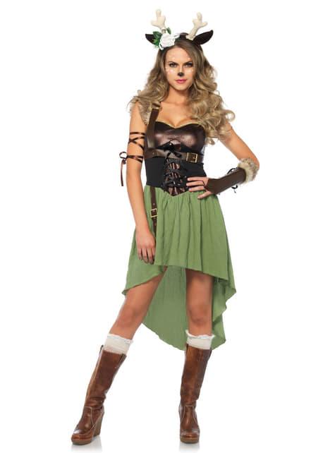 Disfraz de cervatilla para mujer