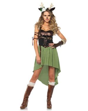 Fawn Kostyme Dame