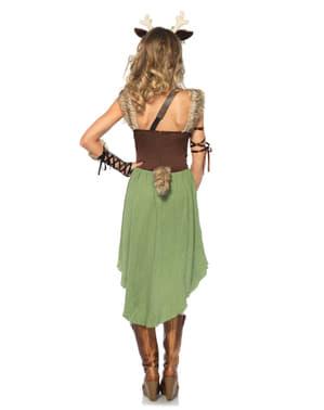 Hjortekostume med kjole til kvinder