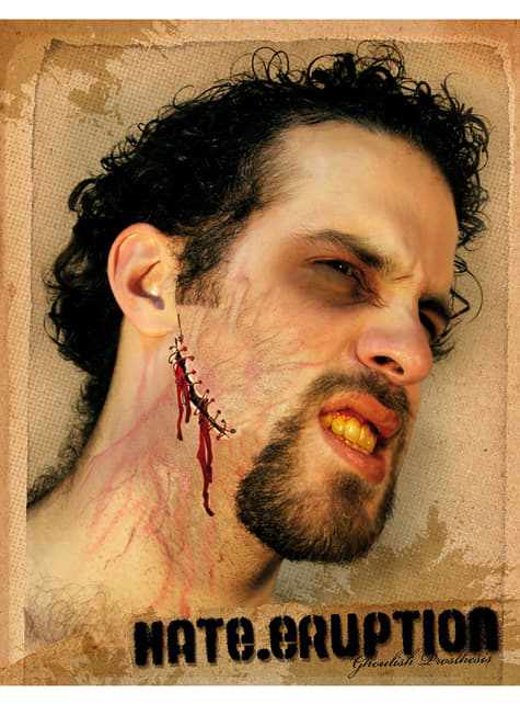 Make up Hate Eruption halloween