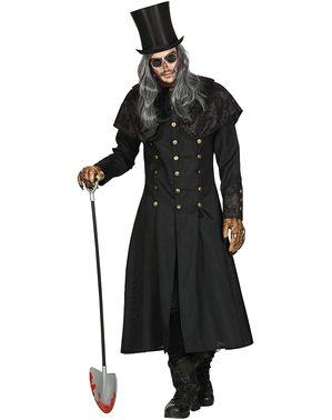 Kostým stylový hrobník pro muže