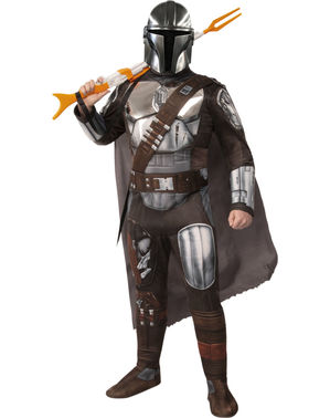 Deluxe The Mandalorian Costume - Star Wars