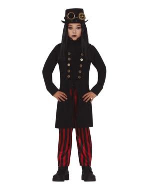 Gotisk Steampunk Kostume til drenge