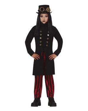Gotisk Steampunk Kostyme til Gutter