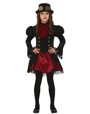 Steampunk Gotik Kostüm für Mädchen