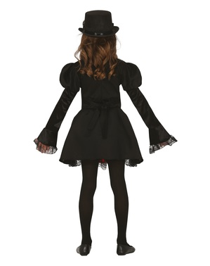 Fato Steampunk gótico para menina