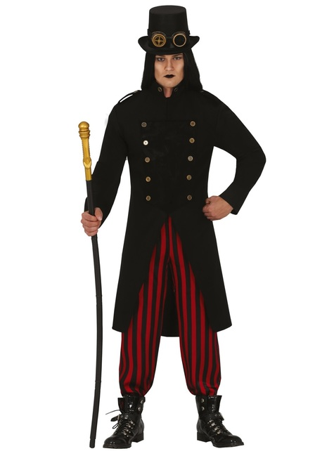 Disfraz Steampunk gótico para hombre