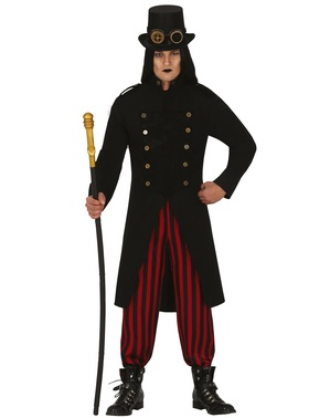 Gothic Steampunk Costume for Men