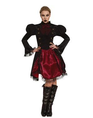Gothic Steampunk Costume for Women