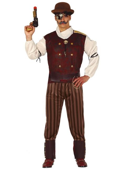 Disfraz Steampunk oxidado para hombre