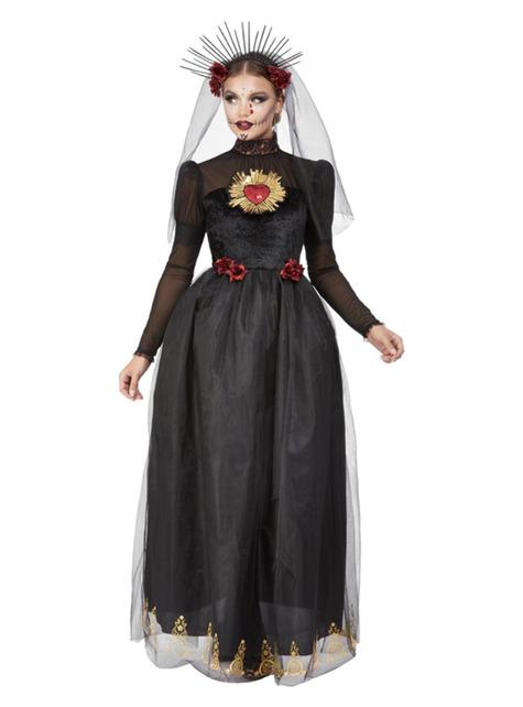 Disfraz de catrina novia para mujer