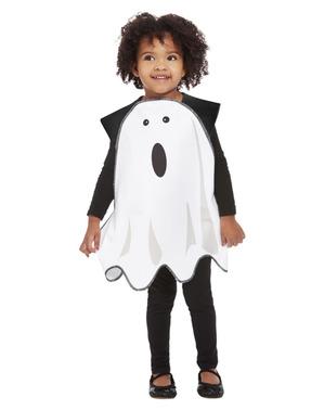 Skræmt Spøgelse Kostume for Kids