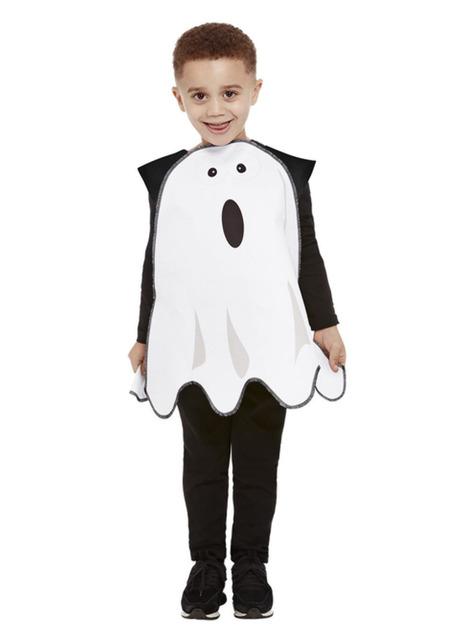 Disfraz de fantasma asustado infantil