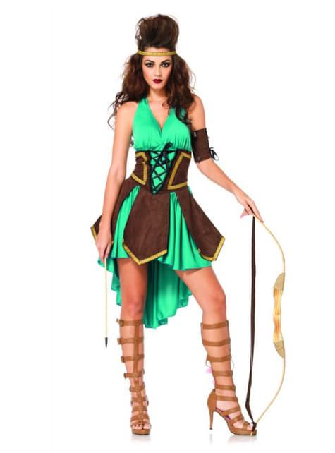 Disfraz de guerrera vikinga sexy para mujer