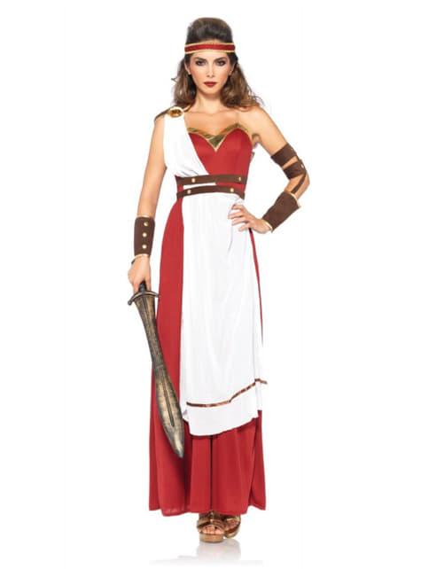 Disfraz de guerrera de Esparta para mujer