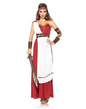 女のスパルタ戦士のコスチューム