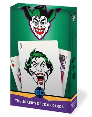 Joker Pakke med Kort - Batman