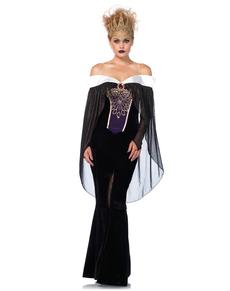 Costume da regina oscura per donna