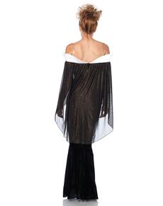 Donkere koningin kostuum voor vrouwen