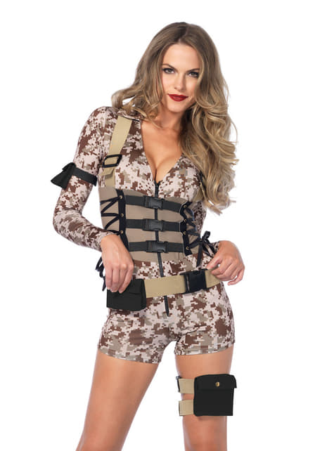 Ženski seksi kostim borca