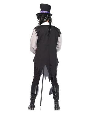 Costum de vrăjitor voodoo pentru bărbat