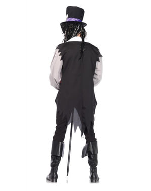 Disfraz de hechicero de vudú para hombre
