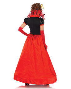 Elegante harten koningin kostuum voor vrouwen