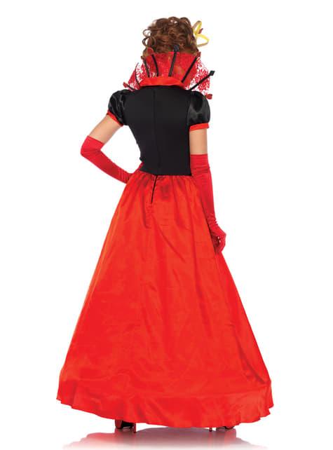 Disfraz de reina de corazones elegante para mujer - mujer