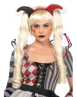 Mardi Gras Parykk for Dame
