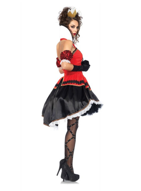 Woman's Queen of Hearts Costume