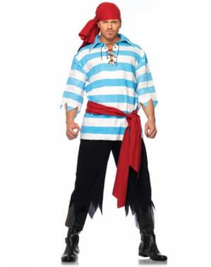 Heldhafige piraat Kostuum voor mannen