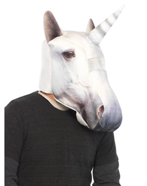 Adult's Padded Unicorn Mask