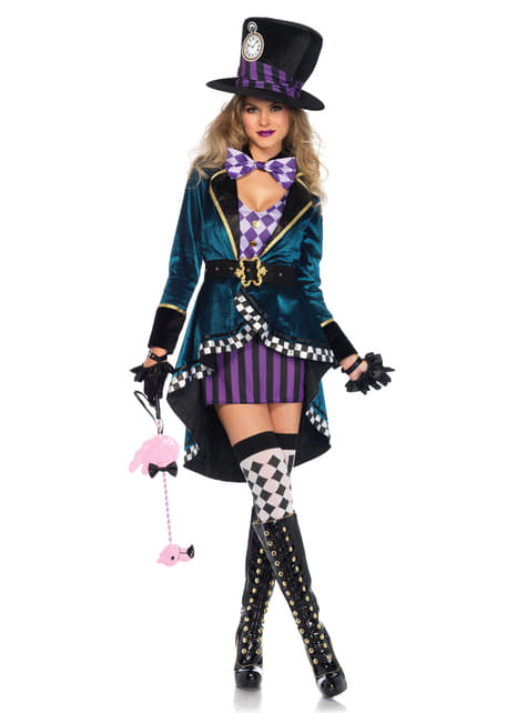 Woman's Hatter Costume