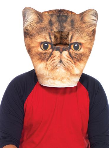 gepolsterte katzen maske f r erwachsene f r kost m funidelia. Black Bedroom Furniture Sets. Home Design Ideas