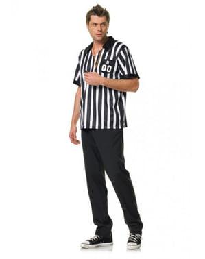 Disfraz de árbitro para hombre
