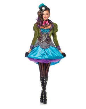 Hutmacher Kostüm deluxe für Damen