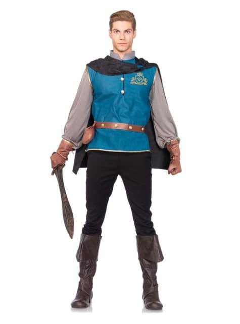Disfraz de príncipe de cuento para hombre