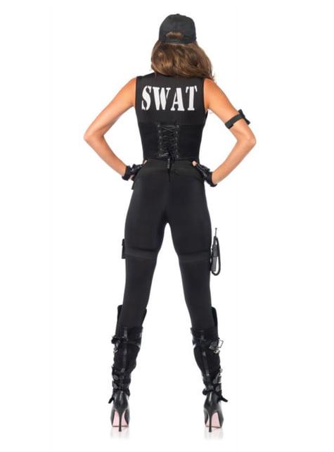 Disfraz de comandante SWAT para mujer - mujer