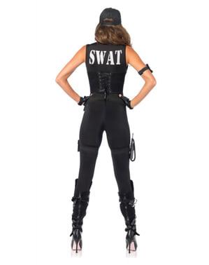 Déguisement commandant SWAT femme
