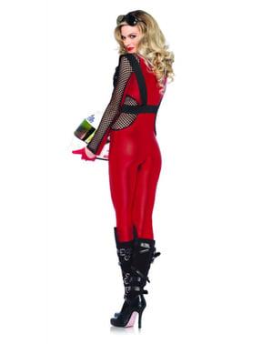Disfraz de piloto de carreras sexy para mujer