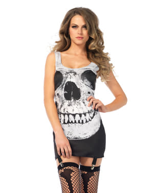 Woman's Smiling Skull Dress