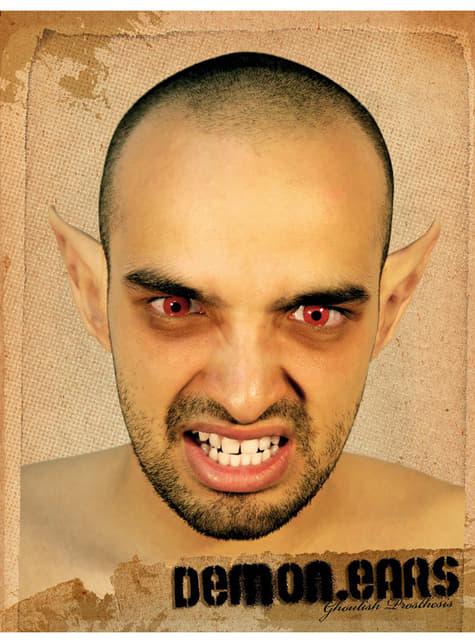 Demon Ears Halloween Make Up