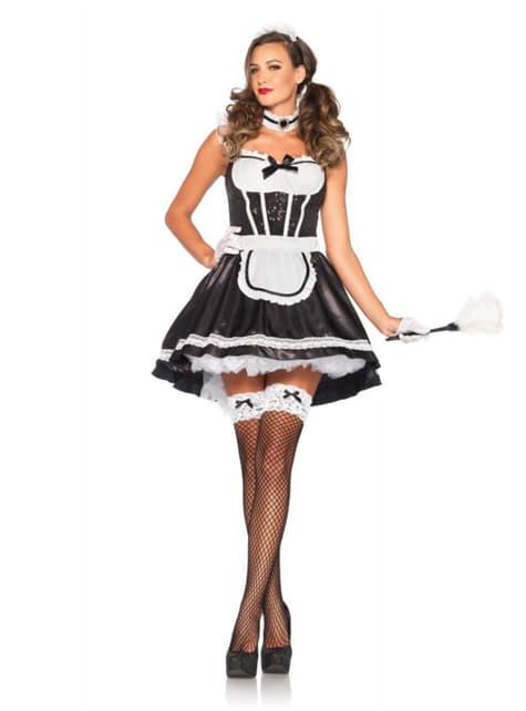Disfraz de criada provocativa para mujer