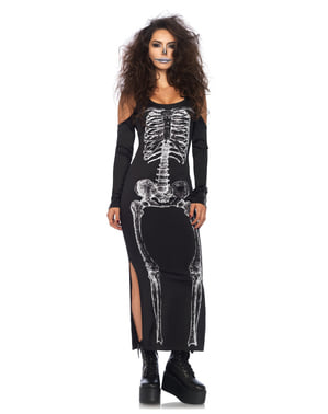 Woman's Provocative Skeleton Costume
